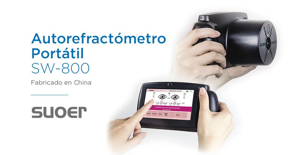 autorefractometro portatil